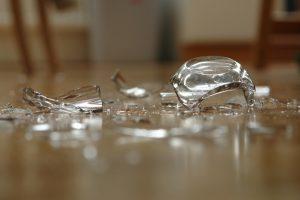 Glas Müll