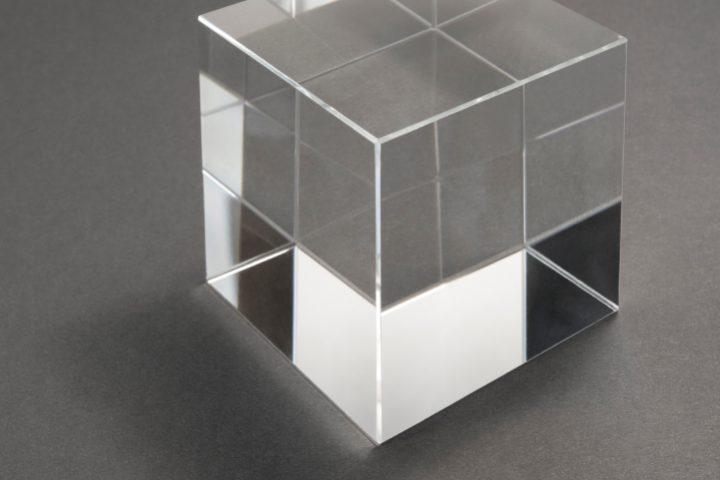 Glas Dichte