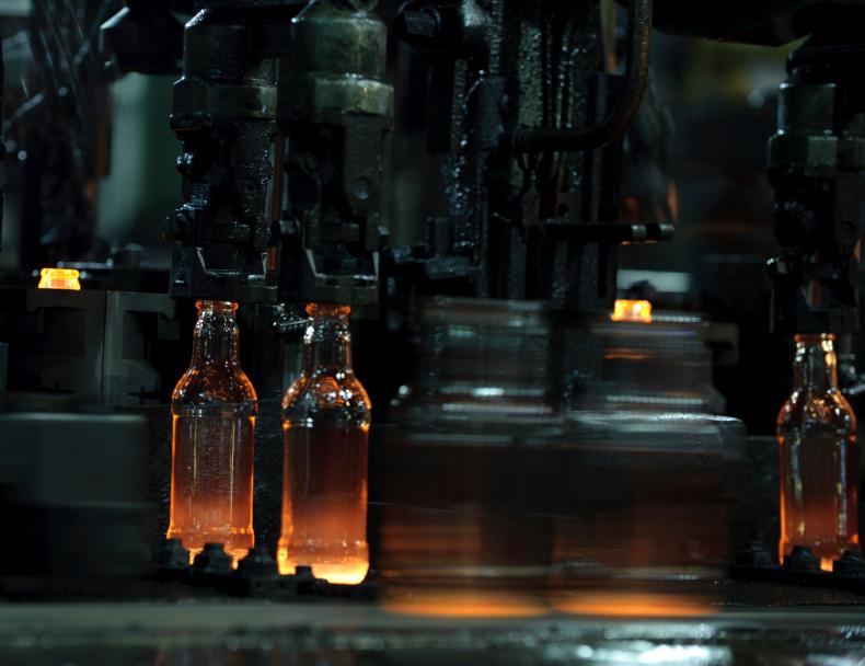 Glas Herstellung