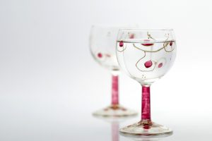 Glas bemalen