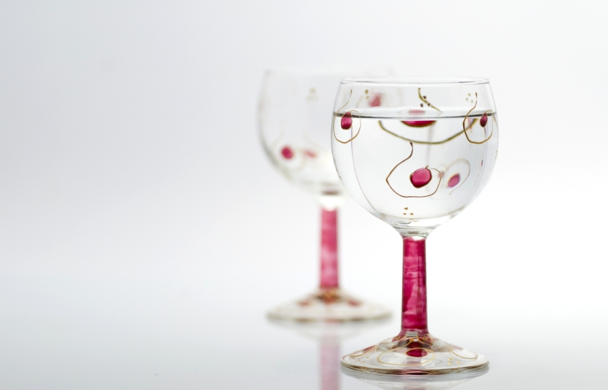 Wine Glass Painting Designs Patterns