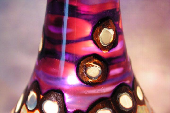 Glas streichen