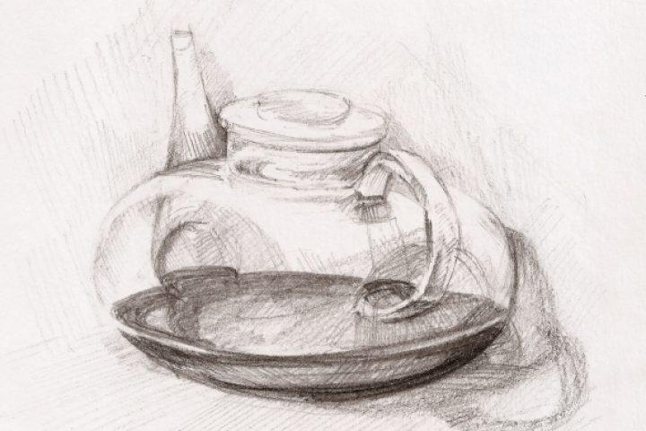 Glas zeichnen