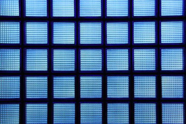 Glasbausteine Dusche