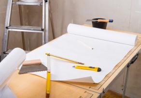 Glasfasertapete tapezieren anleitung in 5 schritten for Glasfasertapete streichen