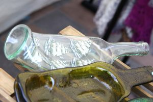 Glasflasche Upcycling