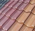 Glasierte Dachziegel