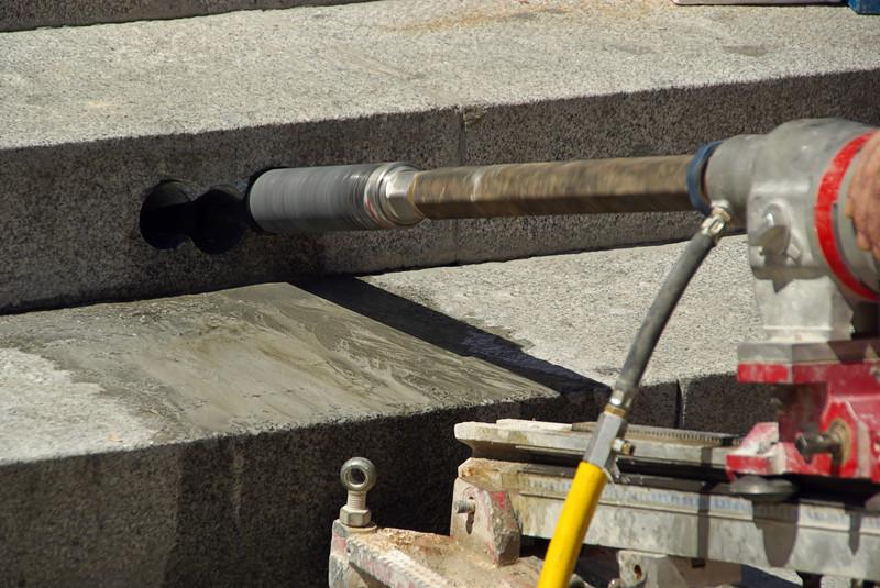 Granit bohren