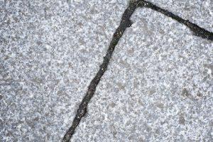 Granitsteine verfugen