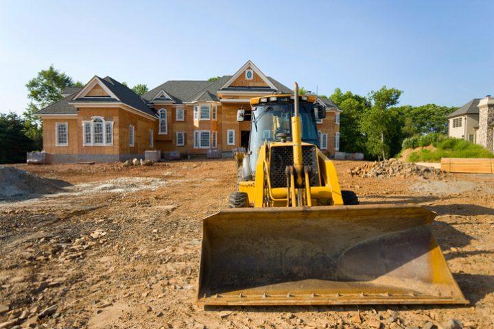 Grundstück nivellieren