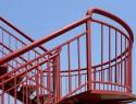 Der Handlauf ist Pflicht an der Treppe