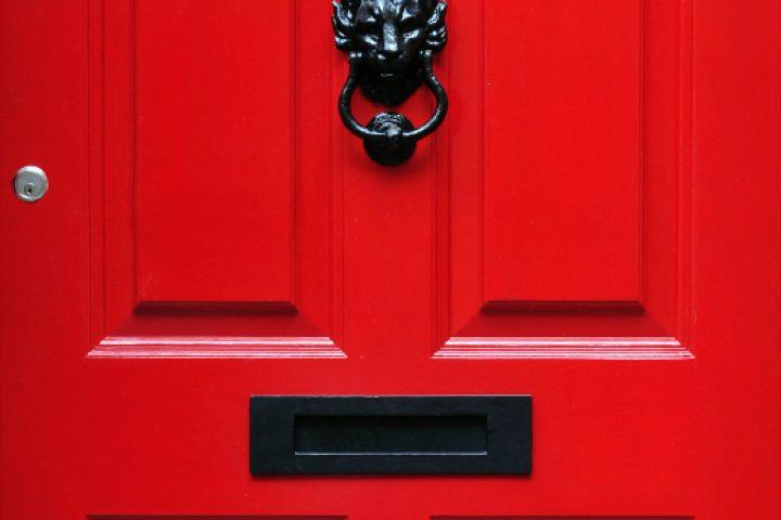Haustür einstellen