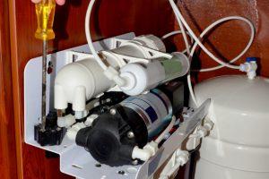 Hauswasserwerk Filter reinigen