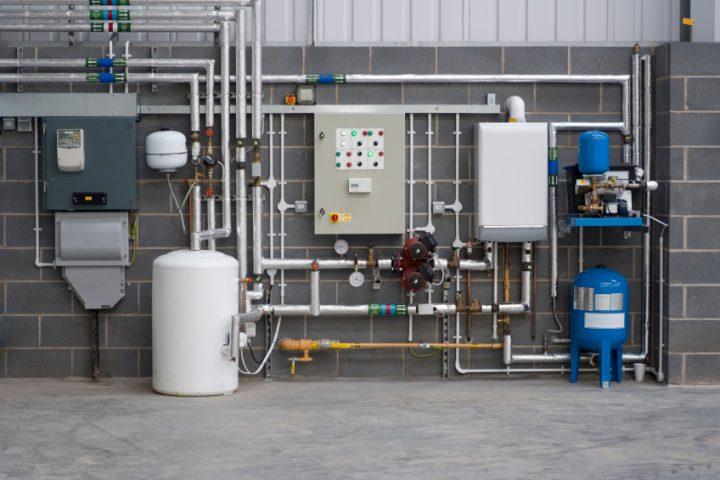 Hauswasserwerk zieht Luft
