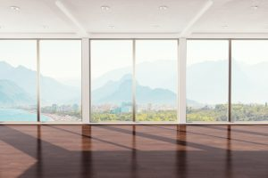 Heizkörper vor bodentiefem Fenster planen