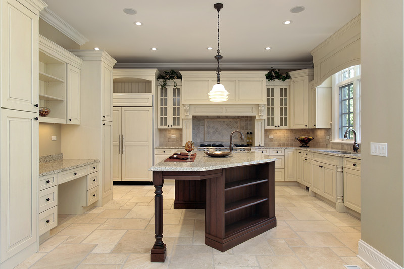 Kitchens With Terracotta Floors And White Cabinets