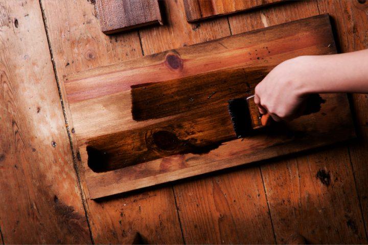 Holz desinfizieren