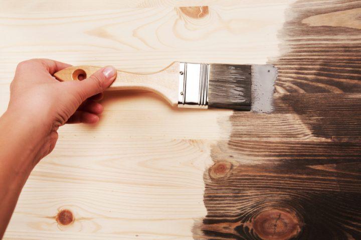 Holz stabilisieren