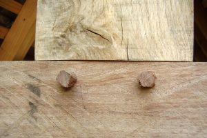 Holz verzinken