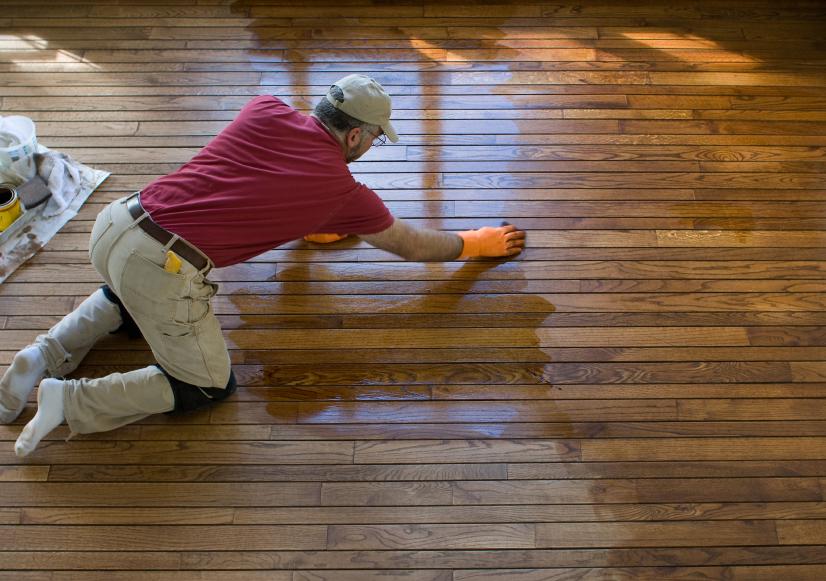 Fußboden Günstig Renovieren ~ Holzboden renovieren ganz einfach in schritten