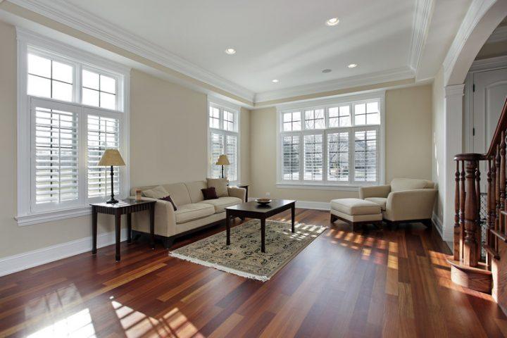 Holzdielen Fußbodenheizung