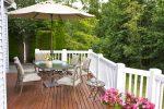 Holzdielen Terrasse
