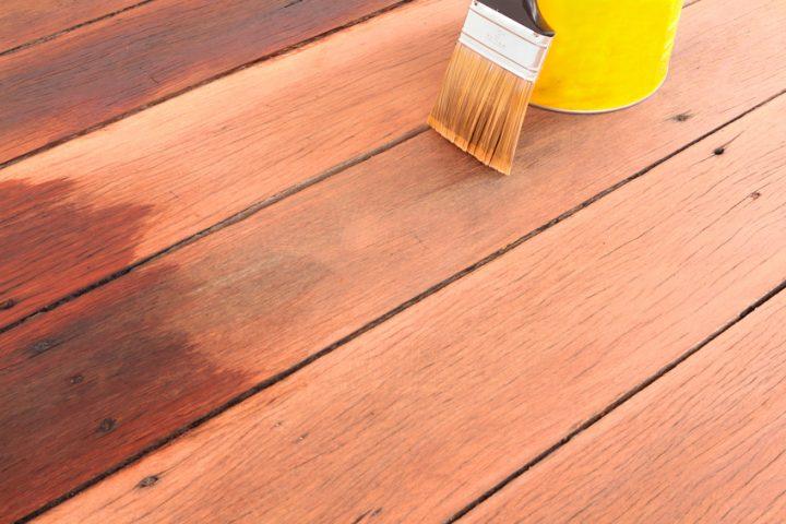 Holzdielen Lack oder Öl