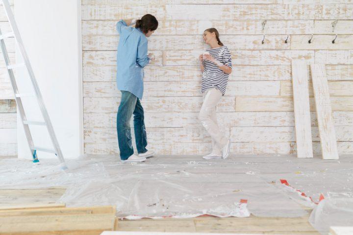 Holzfassade bauen