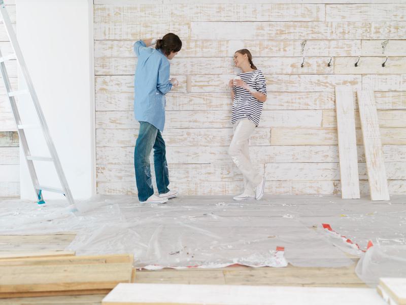 holzfassade selber machen anleitung in 4 schritten. Black Bedroom Furniture Sets. Home Design Ideas