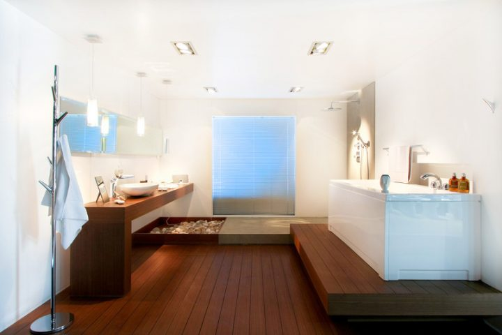 Holzfliesen Für Das Bad » Worauf Sie Achten Sollten Und Preisübersicht