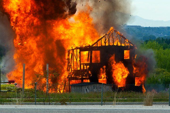 Holzhaus Brandgefahr