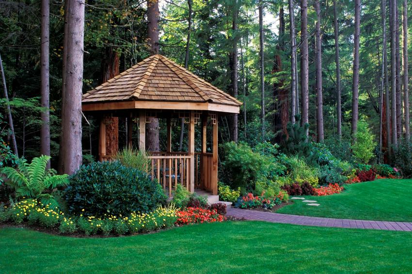 Holzpavillon Selber Bauen Planen Vorbereiten Und