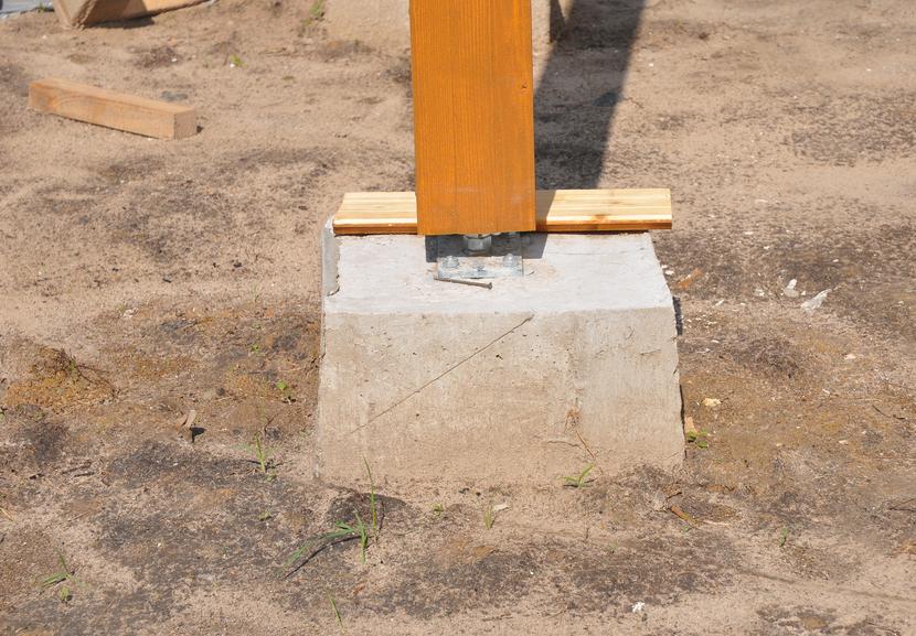 holzpfosten auf beton befestigen mit diesen methoden geht 39 s. Black Bedroom Furniture Sets. Home Design Ideas
