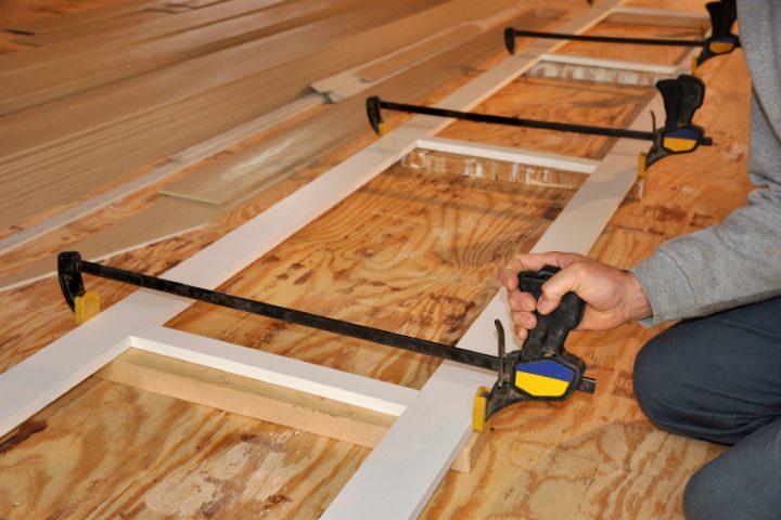 Holzrahmen bauen