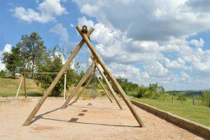 Holzschaukel selber bauen