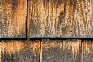 Holzschindelfassade