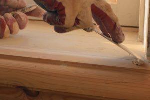 Holz Spachtelmasse selber machen