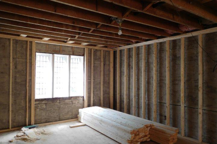 Holzständerbauweise Anbau