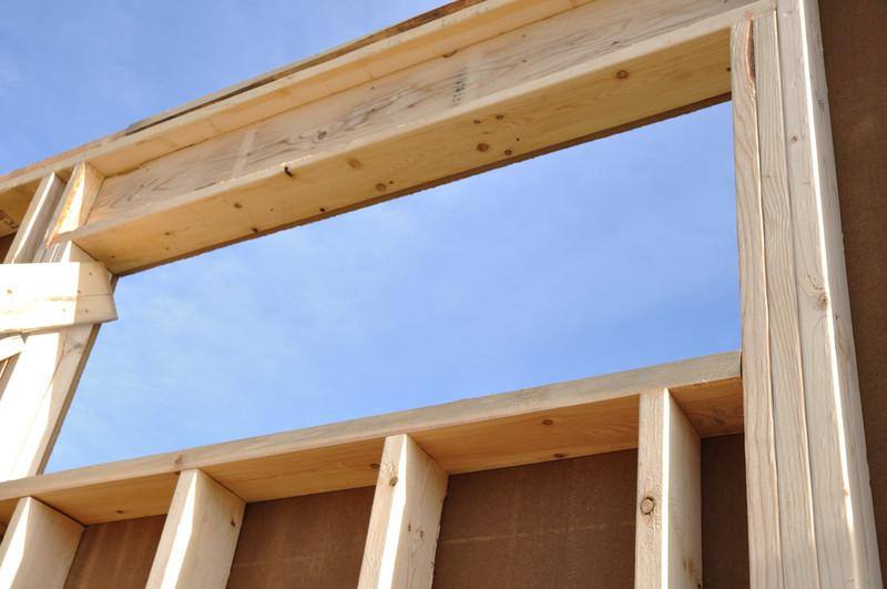 Holzständerbauweise ist schnell und günstig errichtet
