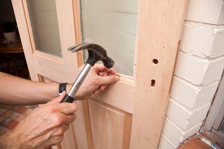 Holztür renovieren