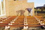 Holzterrasse Unterkonstruktion