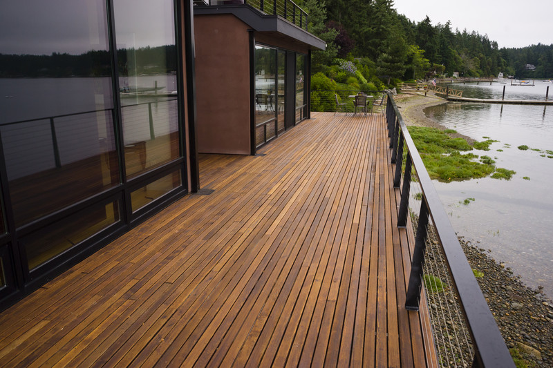 Holzterrasse anlegen anleitung zur planung for Longest decking boards
