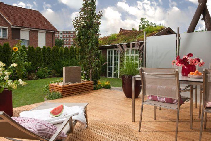 Holzterrassen Selber Bauen - Anleitung In 4 Schritten Terrasse Anlegen Schritte Planung