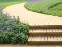 Holztreppe bauen außen