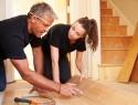 Holztreppe renovieren mit Laminat