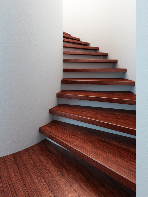 Holztreppe Verschönern holztreppe welche holzart eignet sich am besten