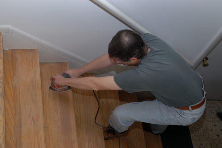 Bevorzugt Holztreppen abschleifen » Anleitung in 4 Schritten CA64