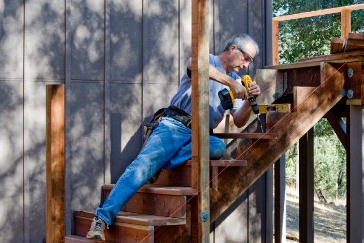 Holztreppen aufarbeiten