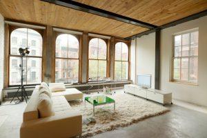 Industrieboden für Zuhause