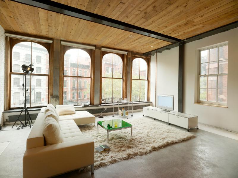 industrieboden im wohnbereich was ist dabei zu beachten. Black Bedroom Furniture Sets. Home Design Ideas